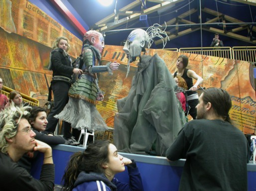 Professional training for puppeteers