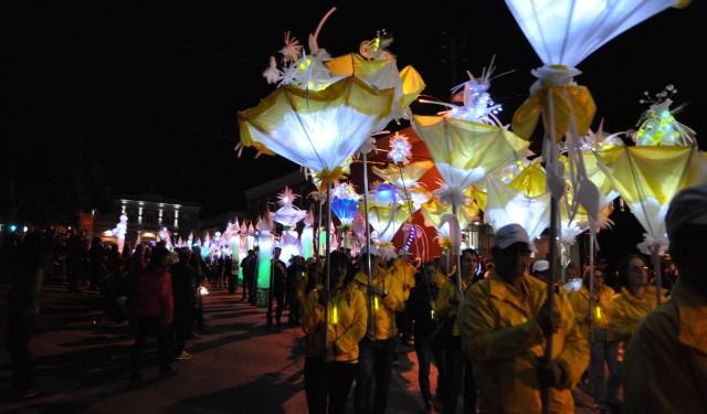 Défilé des lanternes : 200th of Drummondville City : June 2015