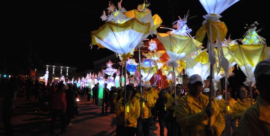 Défilé des lanternes : 200e de Drummondville : juin 2015